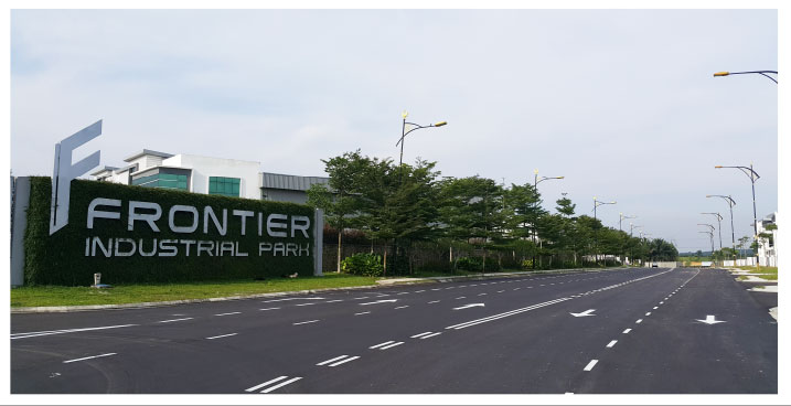 Frontier Industrial Park - Main Access of more than 100-feet wide
