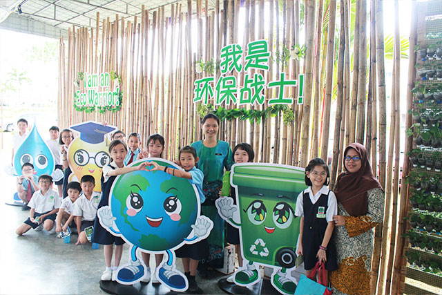 42 schools take part in Eco Day at SJK (C) Woon Hwa