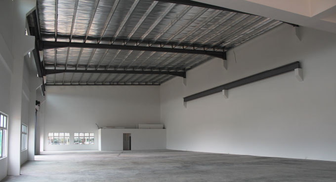 Frontier industrial park - Column-free User-friendly Space