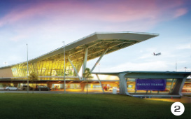 Senai International Airport